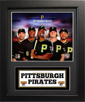 11x14 Deluxe Frame - 2014 Pittsburgh Pirates