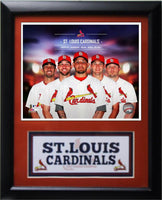 11x14 Deluxe Frame - 2014 St Louis Cardinals
