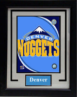 11x14  Deluxe Frame - Denver Nuggets