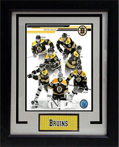 11x14 Deluxe Frame - 2013/14 Boston Bruins