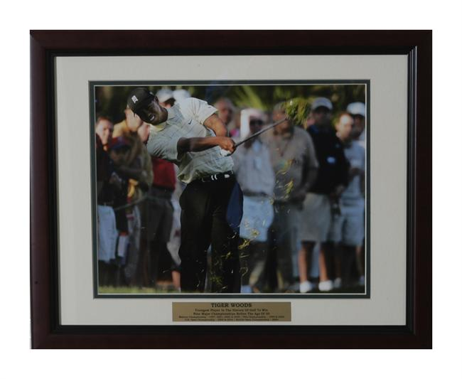 14x18 Deluxe Frame - Tiger Woods
