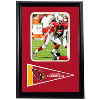 12x18 Pennant Frame - Tim Hightower Arizona Cardinals