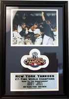 12x18 Patch Frame - New York Yankees Champions