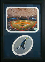 12x18 Patch Frame - Tampa Bay Rays