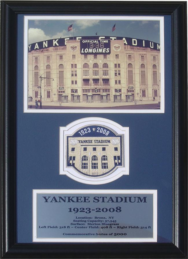 12x18 Patch Frame - Yankee Stadium
