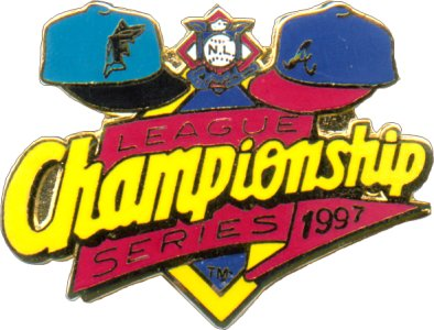 1997 National League Champs Pin