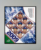 11x14 Mat - 2009 Los Angeles Dodgers