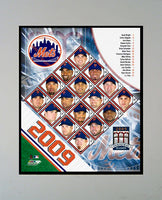 "2009 New York Mets Team Photograph in a 11"" x 14"" Mat"