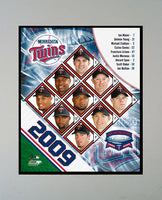 "2009 Minnesota Twins Team Photograph in a 11"" x 14"" Mat"