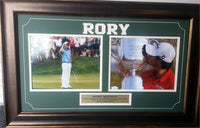14x24 Autographed Frame - Rory McIlroy