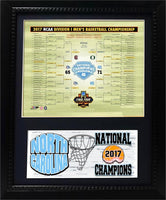 11 x 14 Deluxe Frame - 2017 National Champion North Carolina Tar Heels