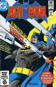 Batman #343 Comic Book Comic Book