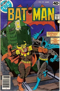 Batman #312 Volume 1 Comic Book