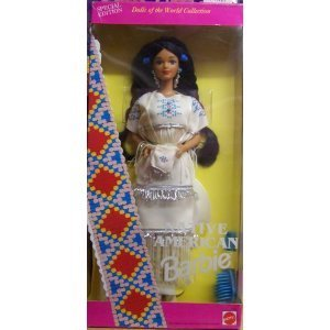 Barbie Dolls of the World Collection Native American