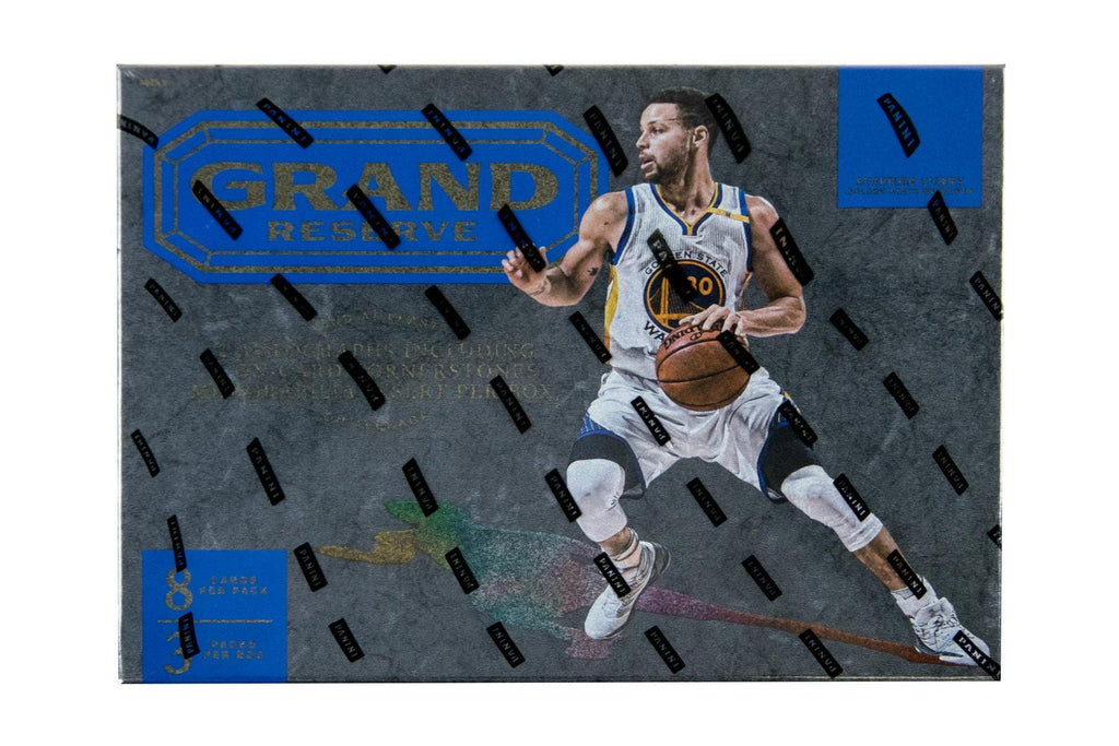 Look for randomly inserted serial numbered inserts, memorabilia and autograph cards! Discover an eclectic mix of unique trading cards in the debut of Grand Reserve! On average, every box will deliver a Cornerstones insert, which features four jersey swatches and an on-card autograph! In great condition.
