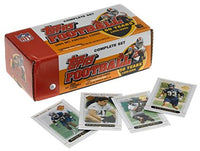 Complete 2005 Topps football factory set not sealed. The Rodgers rookie looks to be in very good condition the set contains 440 cards +5 new rookie cards there did not appear in topps football. Overall the set is in a great condition, in original box.