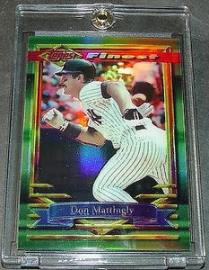 Don Mattingly 1994 Topps Finest #392 Card