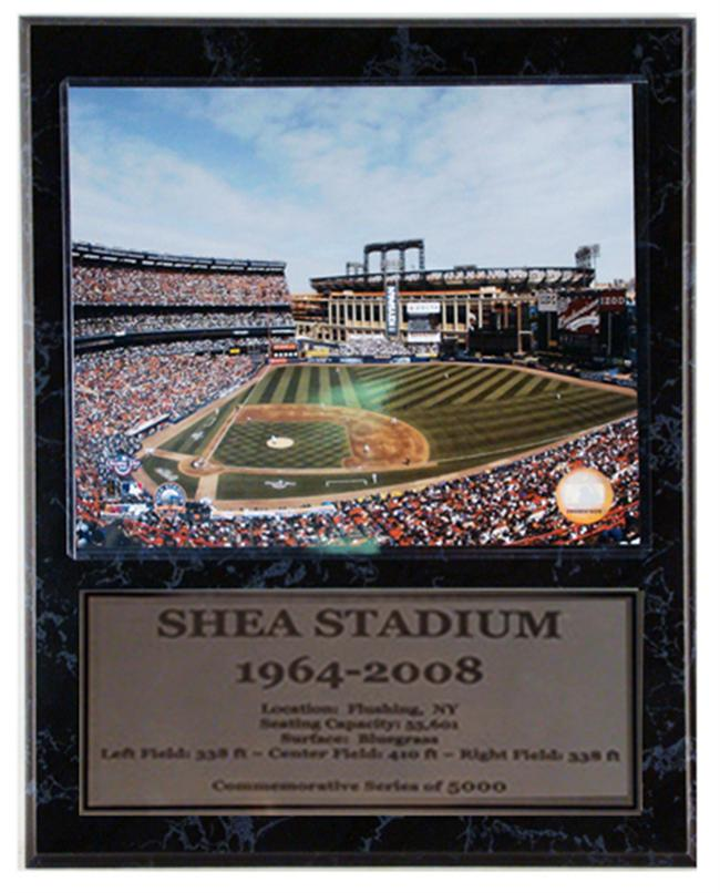 12x15 Stat Plaque - Shea Stadium