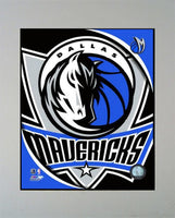 11x14 Logo Mat - Dallas Mavericks
