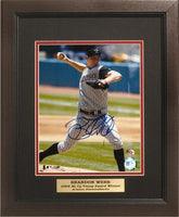 11x14 Auotograph Frame - Brandon Webb Arizona Diamondbacks