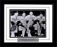 11x14 Autographed Frame - 1961 NY Yankees Infield