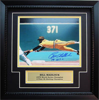 11x14 Autograph Frame - Bill Madlock Pittsburgh Pirates