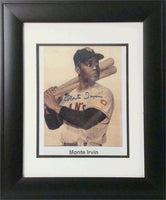 11x14 Autograph Frame - Monte Irvin NY Giants (baseball)