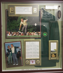 1986 Jack Nicklaus Masters Win