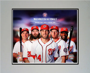 11x14  Mat - 2014 Washington Nationals