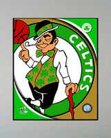 11x14 Logo Mat - Boston Celtics