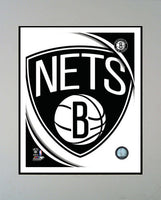 11x14 Logo Mat - Brooklyn Nets