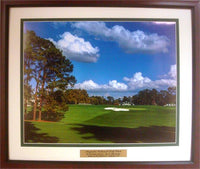 20x24 Custom Frame - Augusta National 9th Hole
