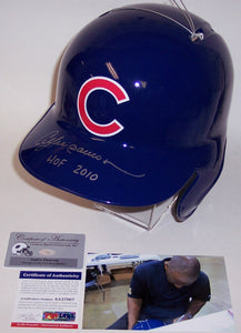 Andre Dawson Autographed Hand Signed Chicago Cubs Full Size Replica Batting Helmet - PSA/DNA