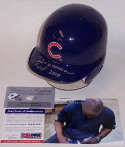 Andre Dawson Autographed Hand Signed Chicago Cubs Mini Helmet - PSA/DNA