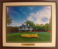 20x24 Custom Frame - Augusta National Gold Club