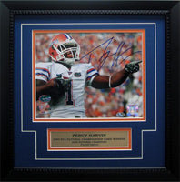 11x14 Autograph Frame - Percy Harvin Florida Gators
