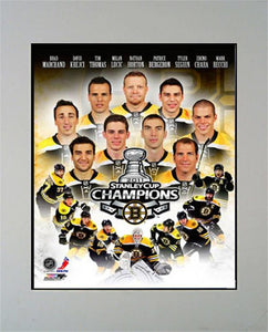 11x14 Champions Mat - Boston Bruins Champions