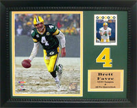 11x14 Card Frame - Brett Favre Green Bay Packers