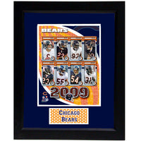 11x14 Deluxe Frame - 2009 Chicago Bears