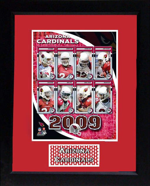 11x14 Deluxe Frame - 2009 Arizona Cardinals