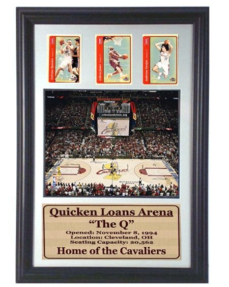12x18 Three Card Frame - Cleveland Cavaliers