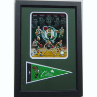 12x18 Pennant Frame - Boston Celtics Legends
