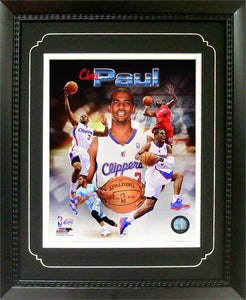 11x14  Deluxe Frame - Chris Paul Los Angeles Clippers