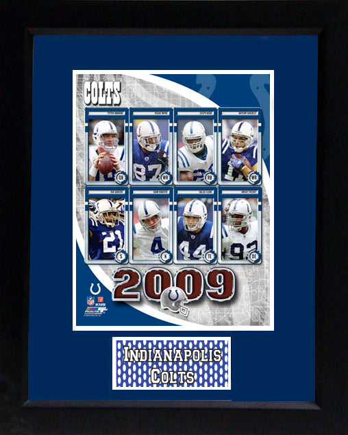 11x14 Deluxe Frame - 2009 Indianapolis Colts