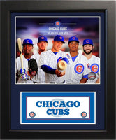 11x14 Deluxe Frame - 2014 Chicago Cubs