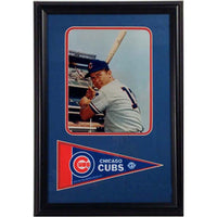12x18 Pennant Frame - Ron Santo Chicago Cubs