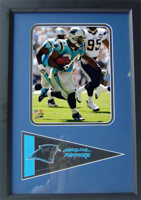 12x18 Pennant Frame - DeAngelo Williams Carolina Panthers