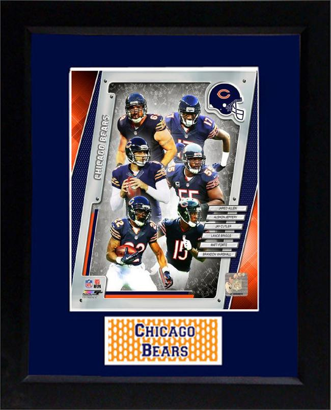 11X14 Deluxe Frame - 2013 Chicago Bears | Team Winners Circle