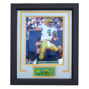 11x14  Frame - Brett Favre Green Bay Packers