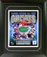 11x14 Deluxe Frame - University of Florida Greats